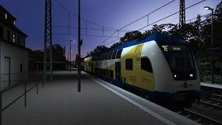 Lets Play Together Train Simulator 2015 Streikbrecher im Metronom mit Peddy (Folge 45)