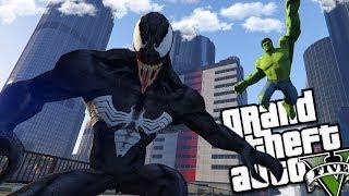 The Incredible HULK vs VENOM (GTA 5 Mods)