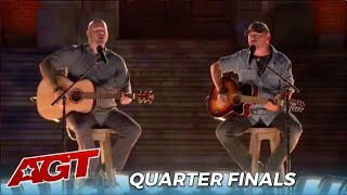 Broken Roots: Singing Duo Get a Second Chance As a COMEBACK Act in The Quartefinals