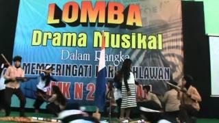 01 Drama Musikal Hari Pahlawan, SMKN 2 Pacitan