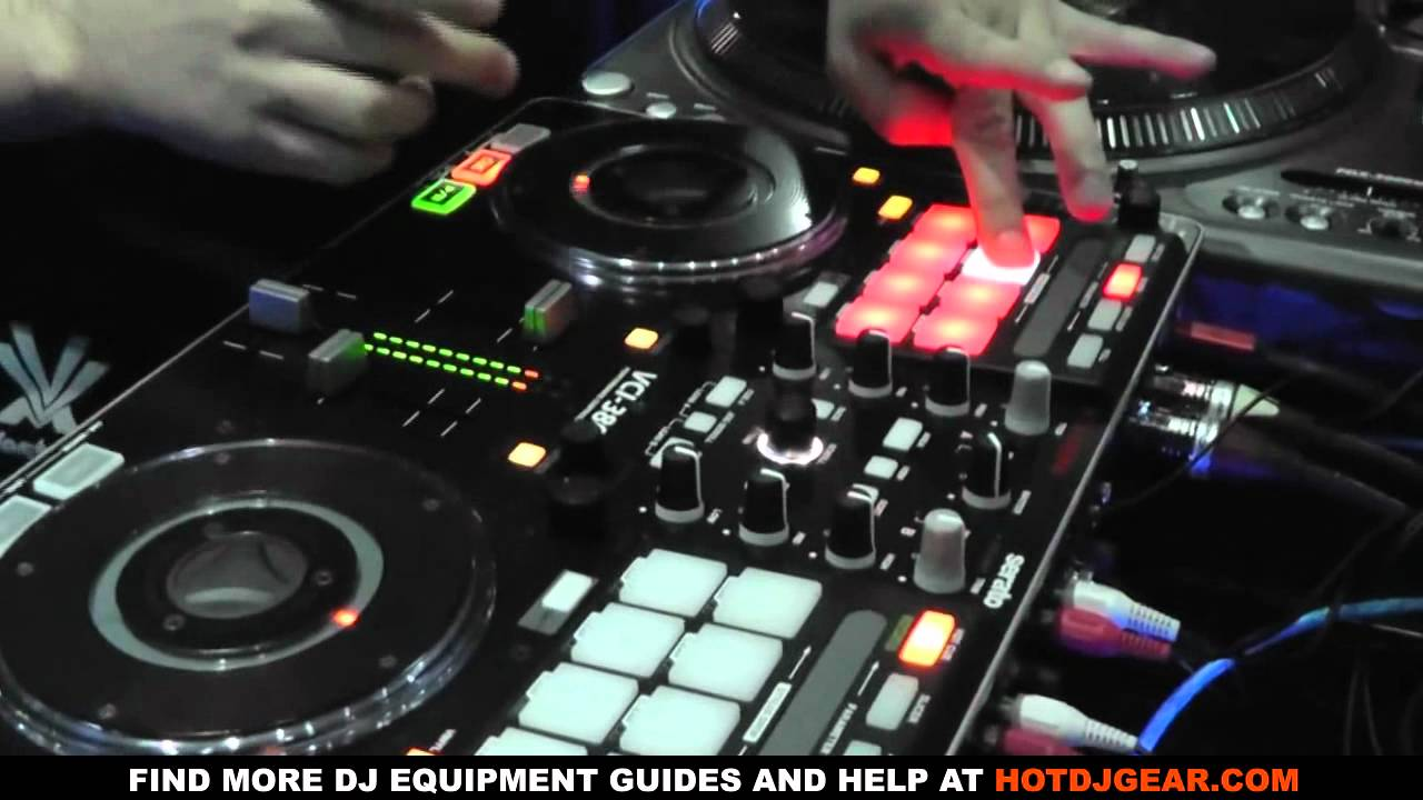 Vestax Vci 380 Dj Controller Pad And Scratch Demo Youtube