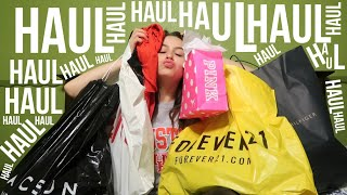 SCHOOL CLOTHES HAUL: H&M, FOREVER 21, PACSUN, TOMMY, PINK, RUE 21