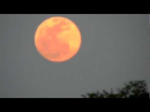 The Huge Moon 2012 In Orlando Sky Yes ! ! !