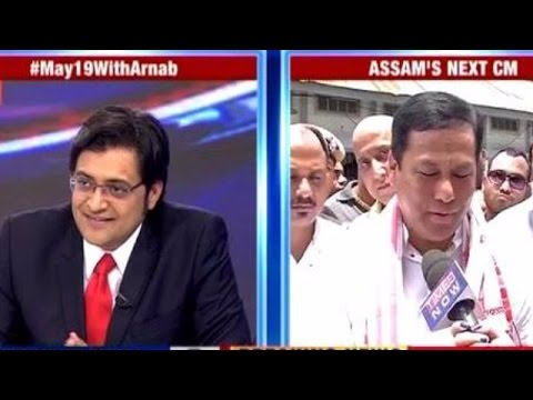 Sarbananda Sonowal Thanks People of Assam for Elections 2016
