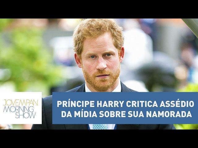 Príncipe Harry critica assédio da mídia sobre sua namorada | Morning Show