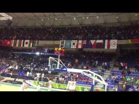 لبنان - نيوزيلندا قبل انطلاق المباراة هكذا كانت الاجواء على أرض الملعب - كأس اسيا