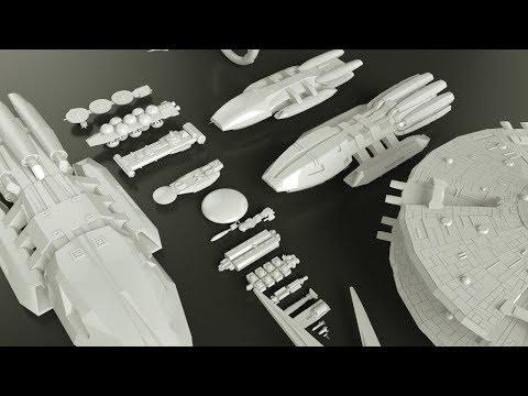 Starships Size Comparison (Battlestar Galactica)