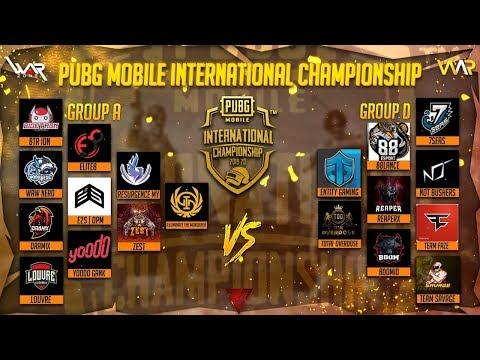 PUBG MOBILE INTERNATIONAL CHAMPIONSHIP | FINALS | FT. BTR, ENTITY, FAZE, ILUM | JANKYROR GAMING