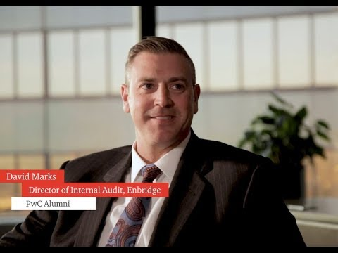 Staying in touch with David Marks, Director internal audit, Enbridge
