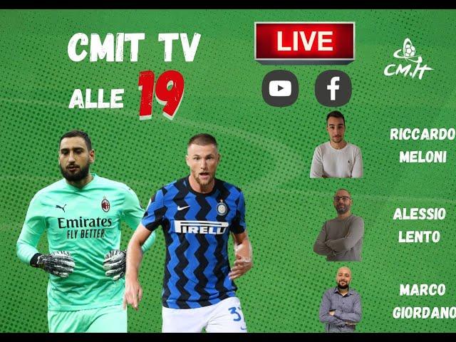 🔴CMIT TV - Pirlo 'frena' la Juve, Inter e Milan vola con Conte e Pioli!
