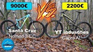 [VTT Enduro] YT Capra Al ⚡️ Santa Cruz Nomad CC ! Plus chère = plus rapide ? [enDHuro Battle]