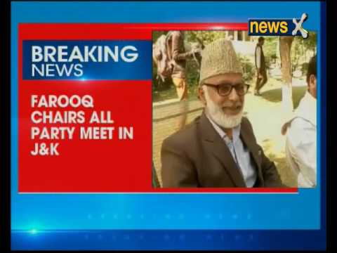 NC president Farooq Abdullah convenes all party meeting over Kashmir situation