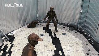 В Казани пропала часть скульптуры у фан-зоны ЧМ-2018