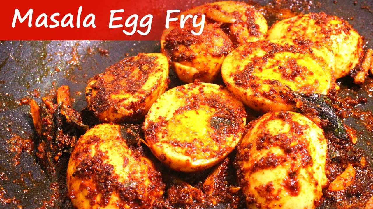 how to make egg masala fry in tamil