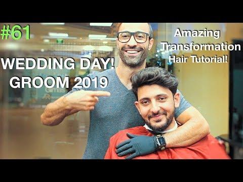 Wedding ✔︎ Hair Transformation For Men on the wedding day 2019 (Groom) (Fun✰) Hair Tutorial