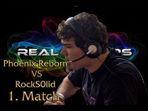 Real Gamers LAN: Phoenix Reborn vs RockS0lid 1. Match