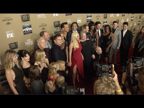 American Horror Story: HOTEL Premiere Lady Gaga, Naomi Campbell, Chloe Sevigny ARRIVALS