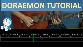 Doraemon Guitar tutorial