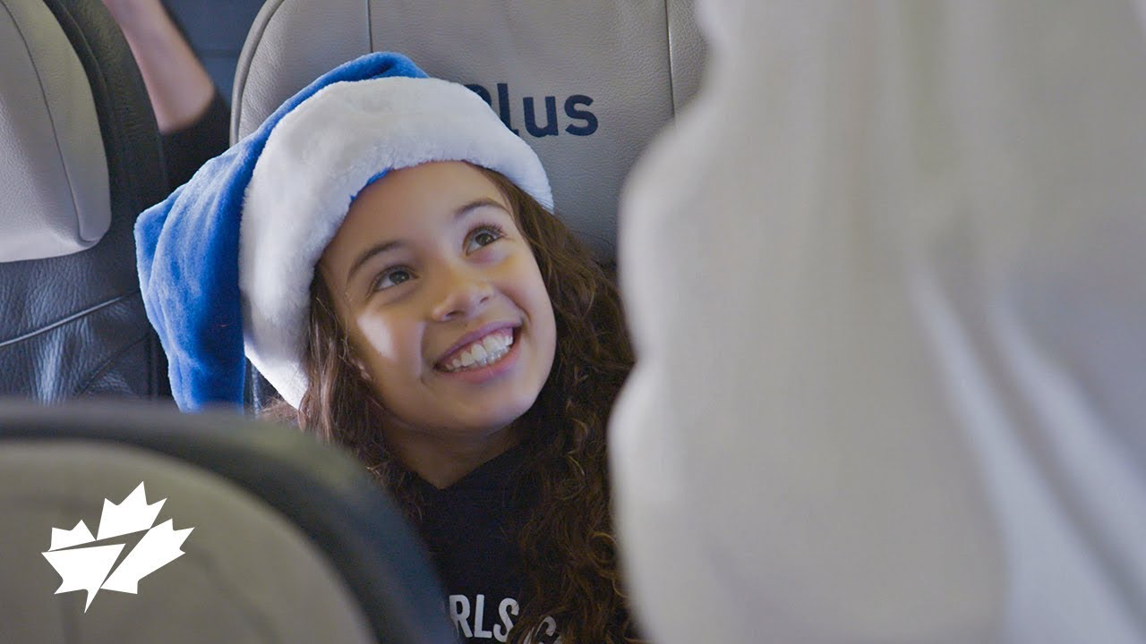 Westjet Christmas 2019 WestJet Christmas Miracle: 12 Flights of Christmas   YouTube