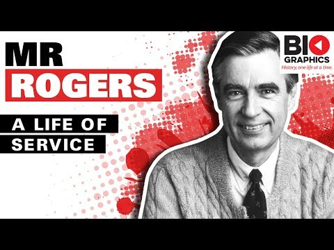 Fred Rogers Biography A Life Of Service Youtube