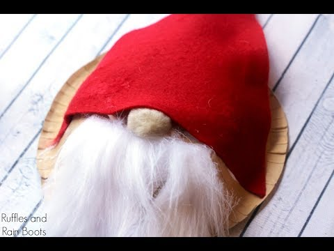Paper Bowl Gnome Craft for Kids