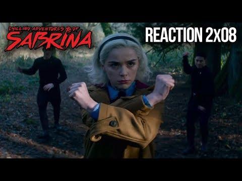 CHILLING ADVENTURES OF SABRINA REACTION PART 2 EPISODE 8