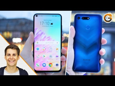 Honor View 20: Statt Notch ein Loch im Display - Hands-On