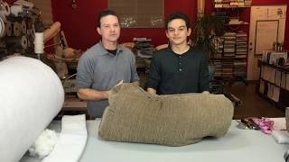 DIY! How to fix flat back cushions for sofas or chairs SAVE BIG!!