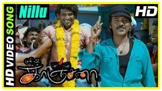 Kanchana Tamil Movie Scenes | Raghava Intro | Nillu Nillu Song | Raghava wins a challenge | Muni 2