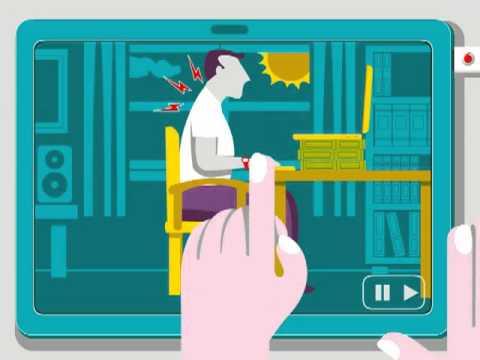 Tư thế ngồi chuẩn khi sử dụng máy tính (P1)