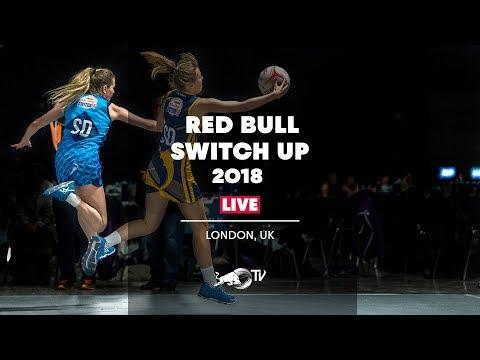 Red Bull Switch Up 2018 Netball Final - London, UK