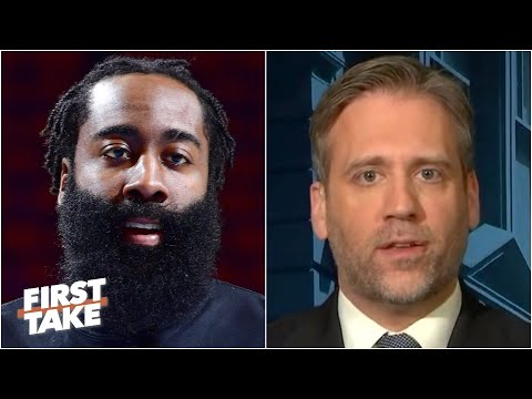 Max reacts to the Rockets trading James Harden to the Nets | First Take