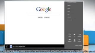 How to delete cookies in Internet Explorer® 11 in Windows® 8.1