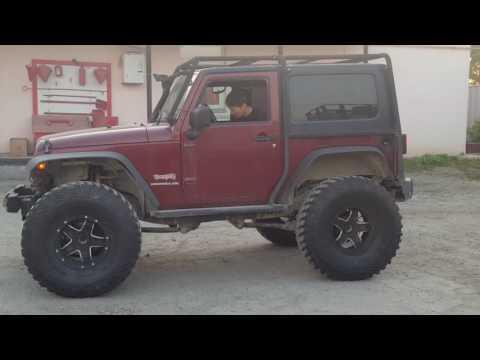 Jeep Wrangler с 1uz тронулся с места спустя год.