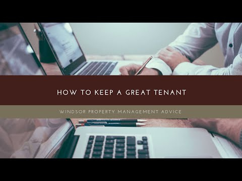 Windsor Property Management Advice
