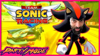 Nick is Annoyingly Good at TEAM SONIC RACING - Party Mode