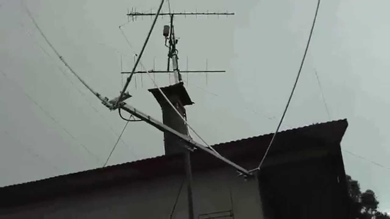 home made delta loop antenna 27 mhz youtube. Black Bedroom Furniture Sets. Home Design Ideas