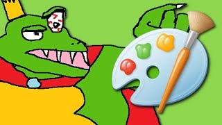 Smash Ultimate In Microsoft Paint 2