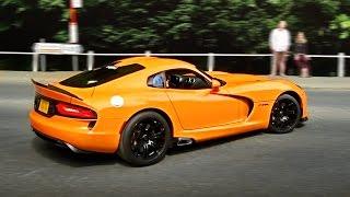 Supercar Accelerations - Leaving a Car Show