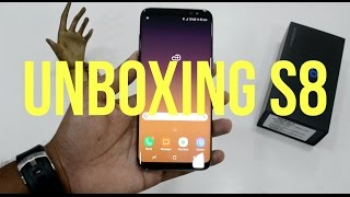 Samsung Galaxy S8 Maple Gold UNBOXING & Initial Impressions: Build & Basic Software features covered