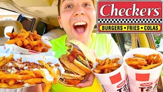 Checkers mukbang