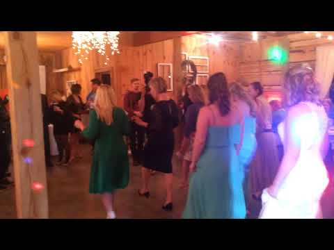 Jake and Francine's reception at The Barn, Oakboro, NC