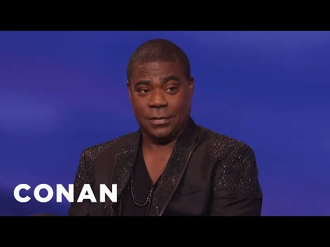 Tracy Morgan Got Beat Up By A 250-Pound Girl In Third Grade  - CONAN on TBS