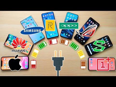 IPhone 11 Pro Max Vs Mate 30 Pro, Note 10+, Realme X2 Pro, Oppo Reno 2|  TEST DE BATERÍA EXTREMO!!
