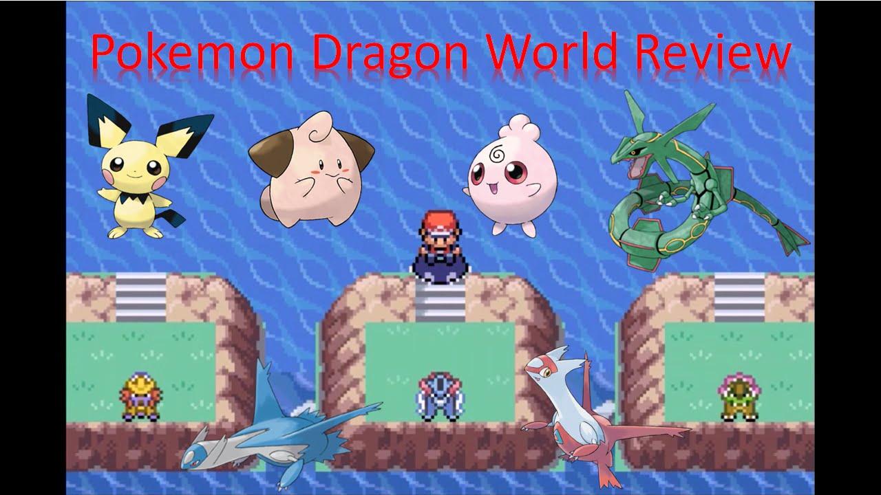 Pokemon Dragon World Review Pokemon Rom Hack Review Youtube