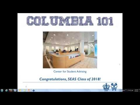 COLUMBIA 101 Webinar/Q&A-Chat - Columbia Engineering (July 30, 2014)