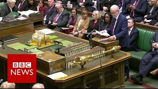 Jeremy Corbyn 'Our NHS is in crisis but the PM is in denial' BBC News