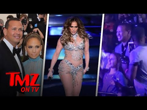 A-Rod is Front and Center At J Lo's Concert | TMZ TV