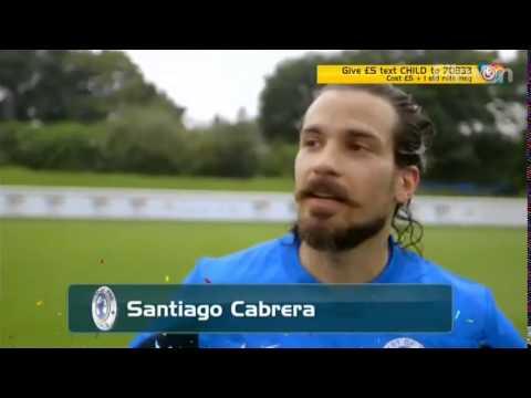 soccer aid training 2014