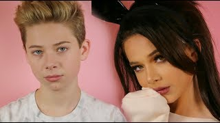 ARIANA GRANDE MAKEUP TRANSFORMATION | Jake Warden